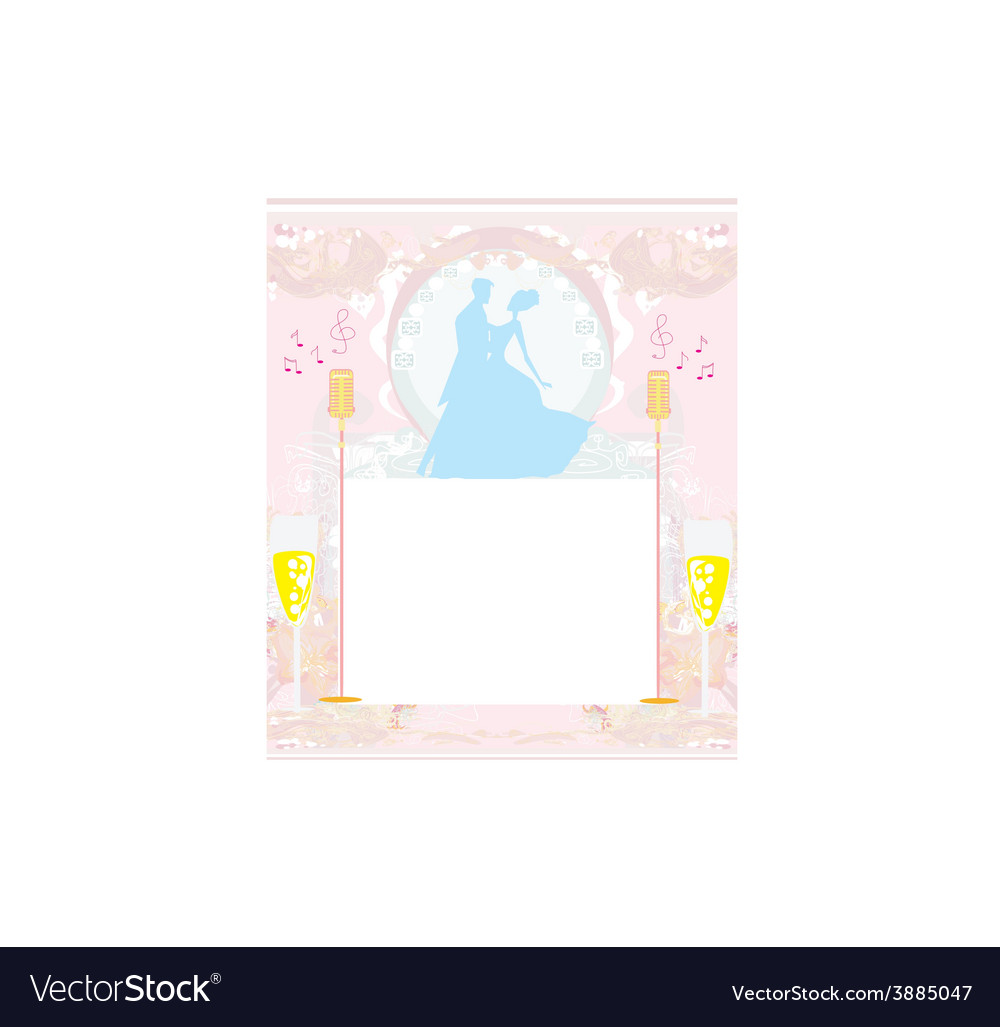Invitation to the prom dance vector | Price: 1 Credit (USD $1)