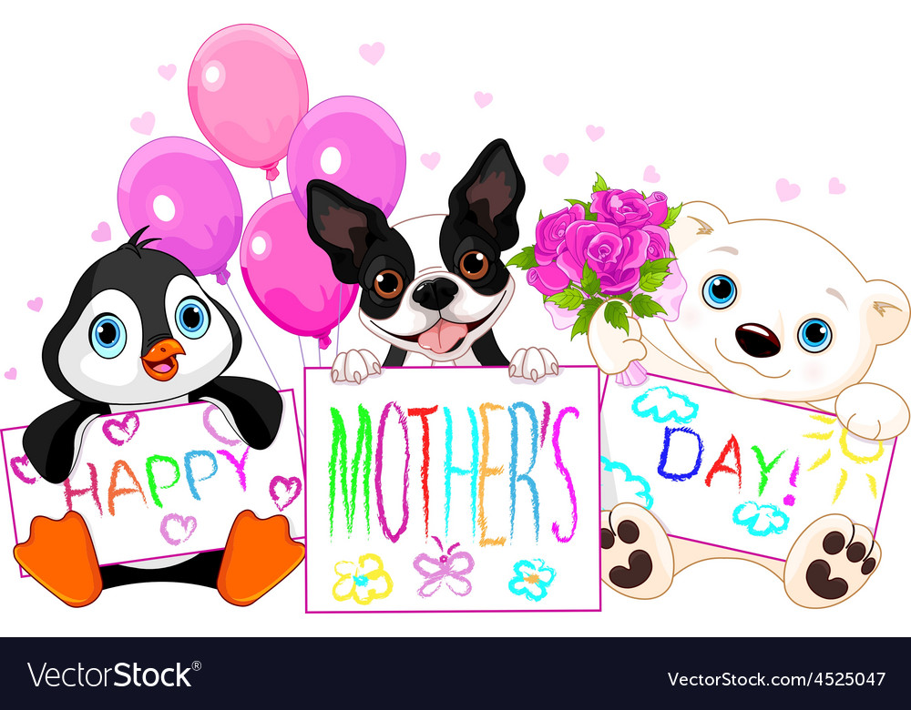 Mother day vector | Price: 3 Credit (USD $3)