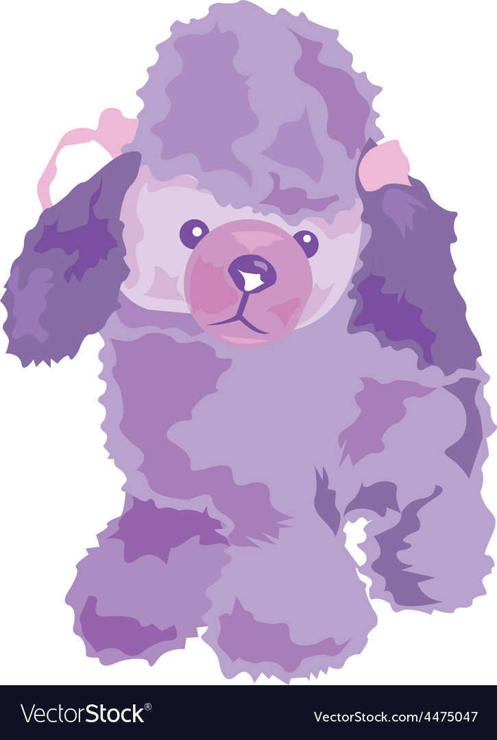 Poodle vector | Price: 1 Credit (USD $1)