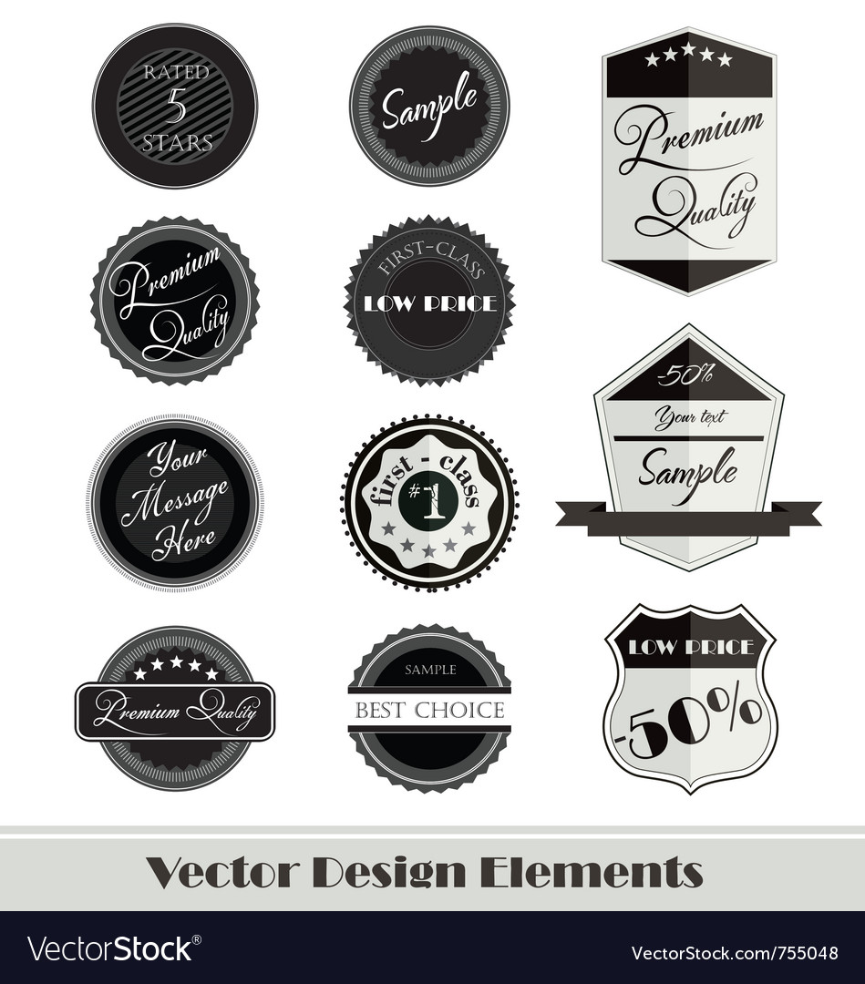 Design elements for web vector | Price: 1 Credit (USD $1)