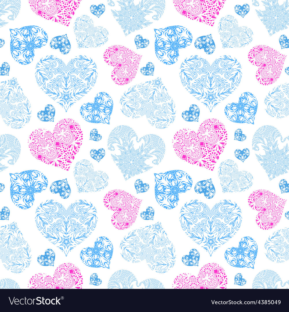 Bright openwork seamless pattern vector | Price: 1 Credit (USD $1)