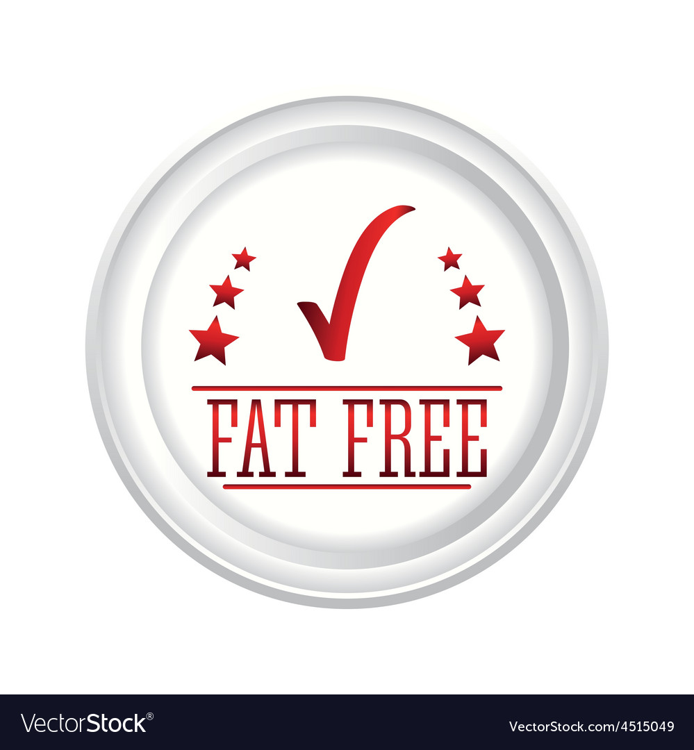 Fat free design vector   Price: 1 Credit (USD $1)