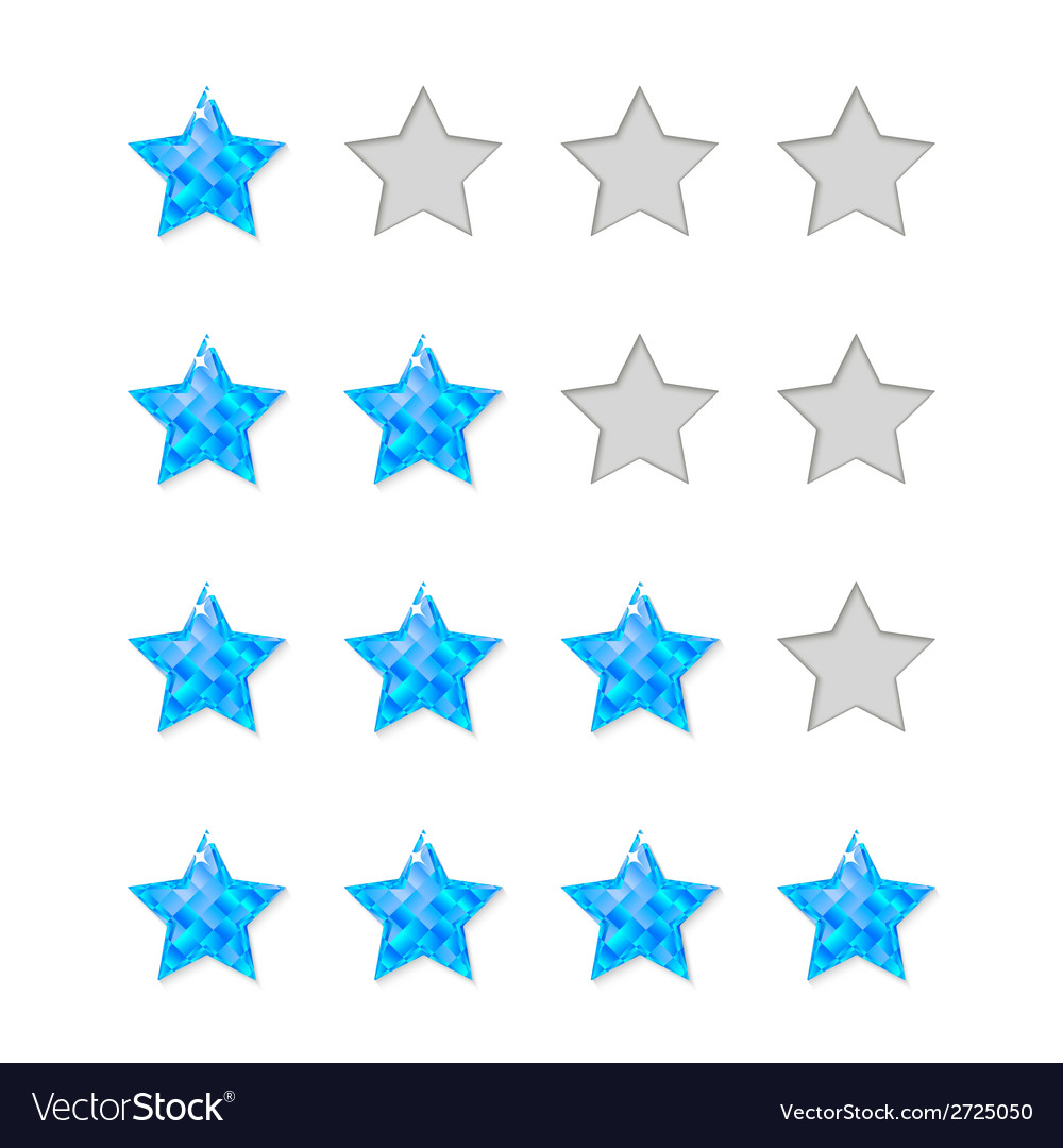 Rating stars vector | Price: 1 Credit (USD $1)