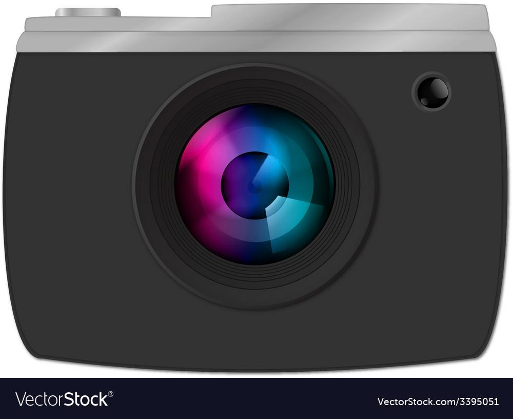 Camera clipart graphic vector | Price: 1 Credit (USD $1)
