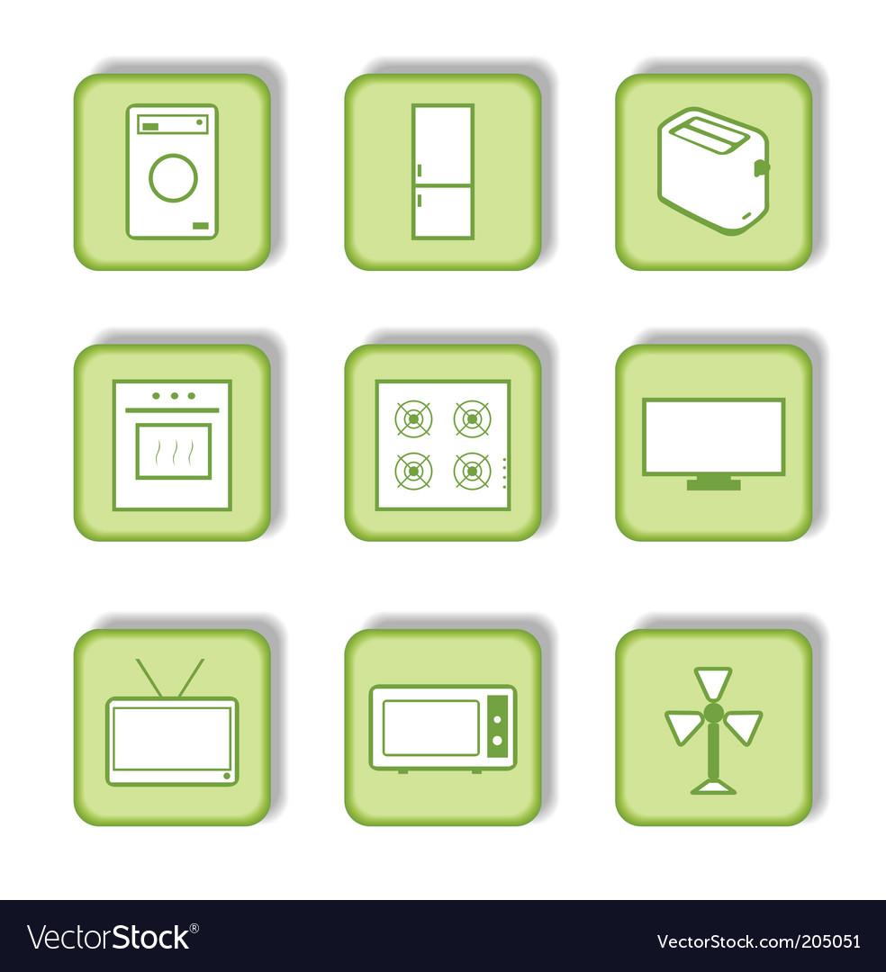 Homeware icon vector | Price: 1 Credit (USD $1)