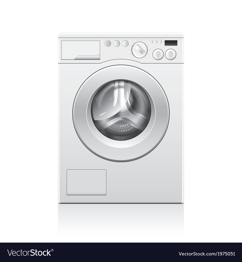 Object washing machine vector | Price: 1 Credit (USD $1)