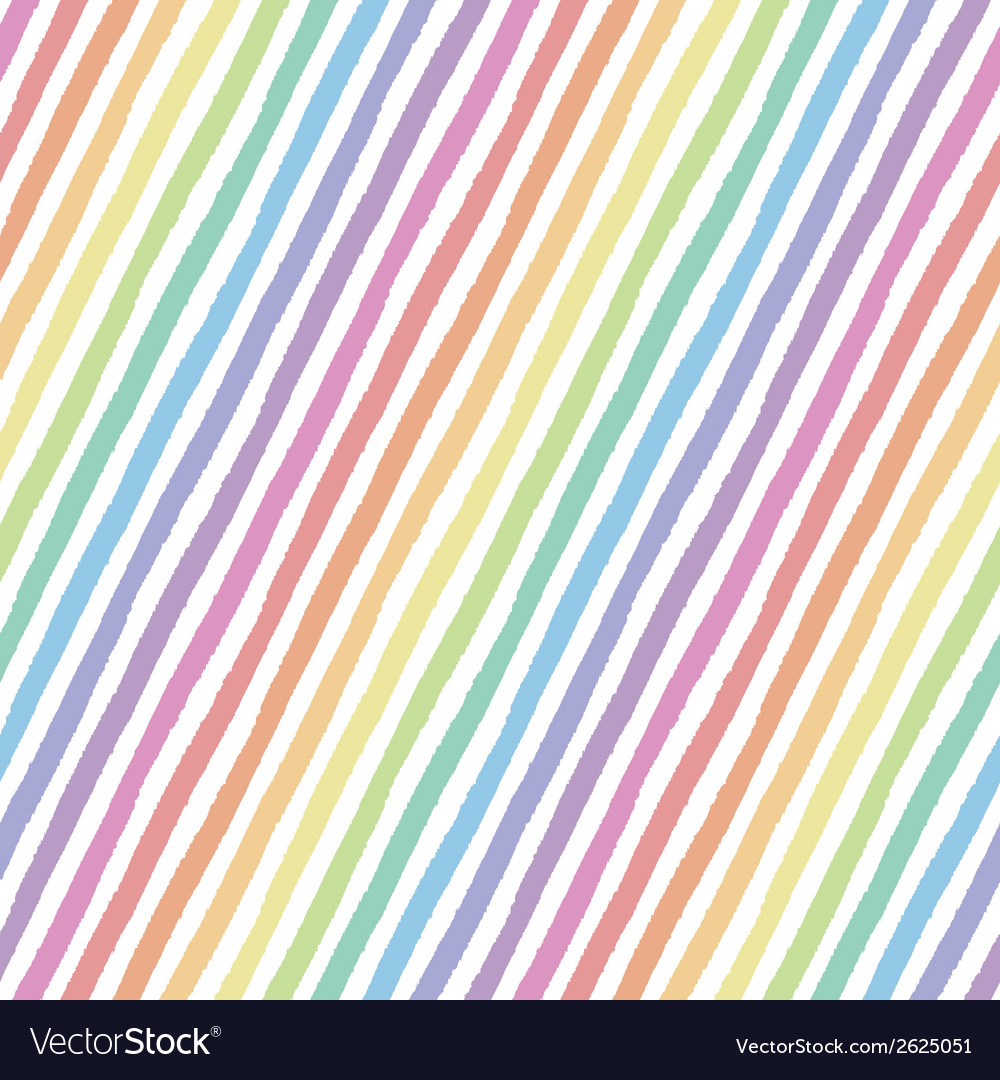 Retro seamless pattern with diagonal stripes vector | Price: 1 Credit (USD $1)