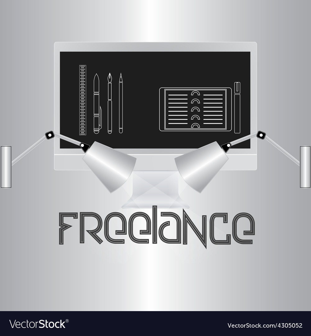 Freelance vector | Price: 1 Credit (USD $1)