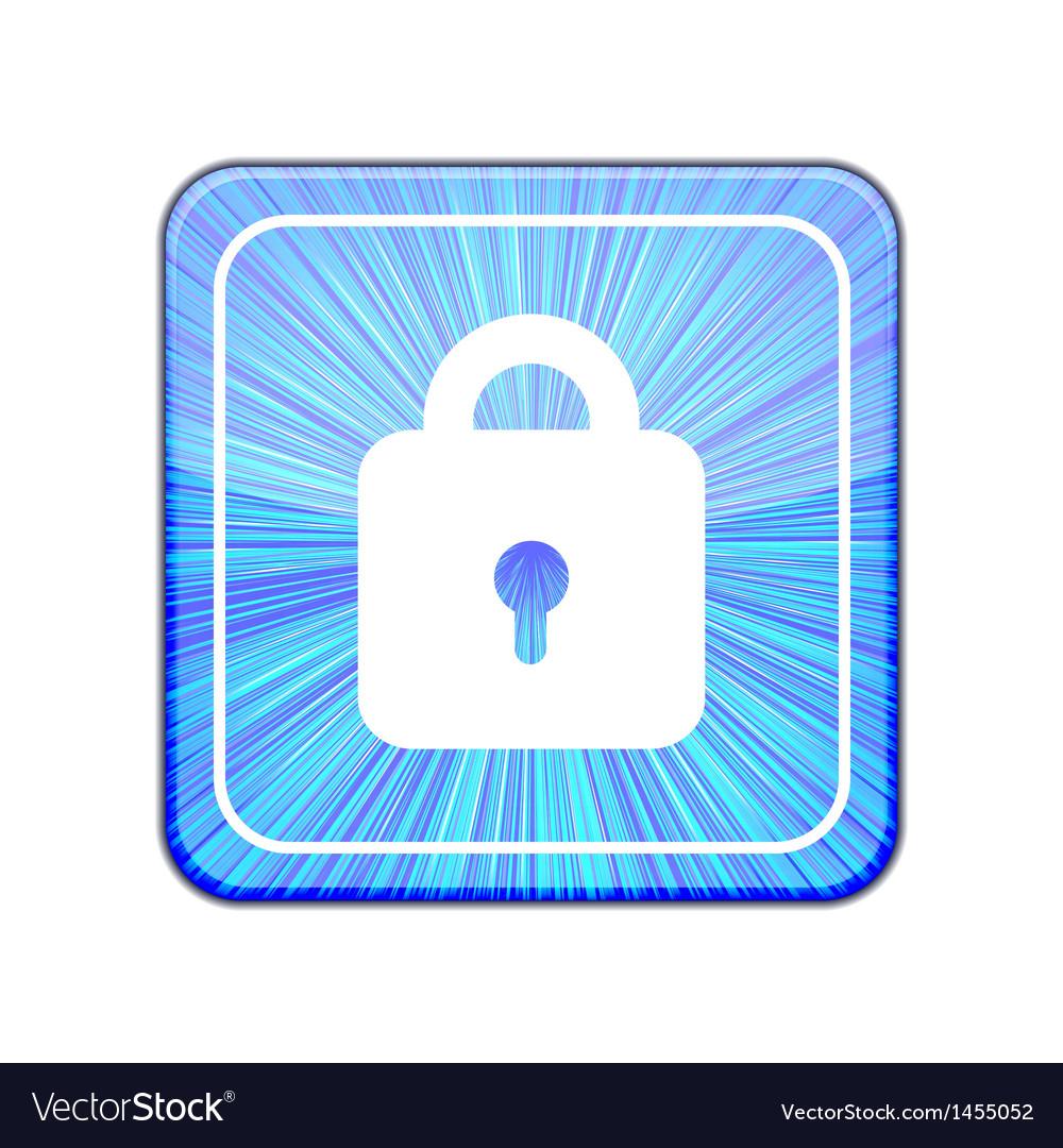 Version lock icon eps 10 vector | Price: 1 Credit (USD $1)