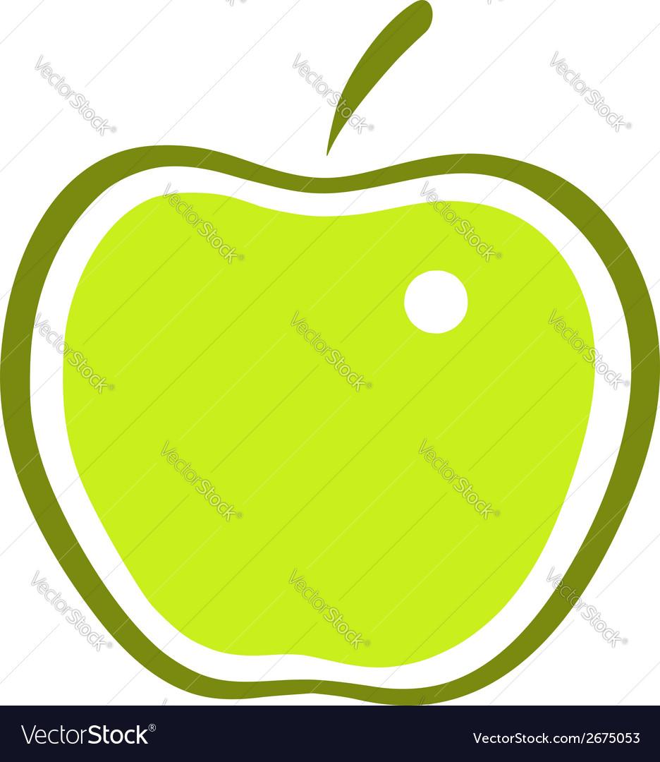 Apple vector | Price: 1 Credit (USD $1)
