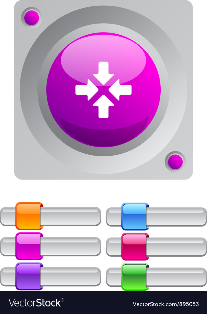Click here color round button vector | Price: 1 Credit (USD $1)