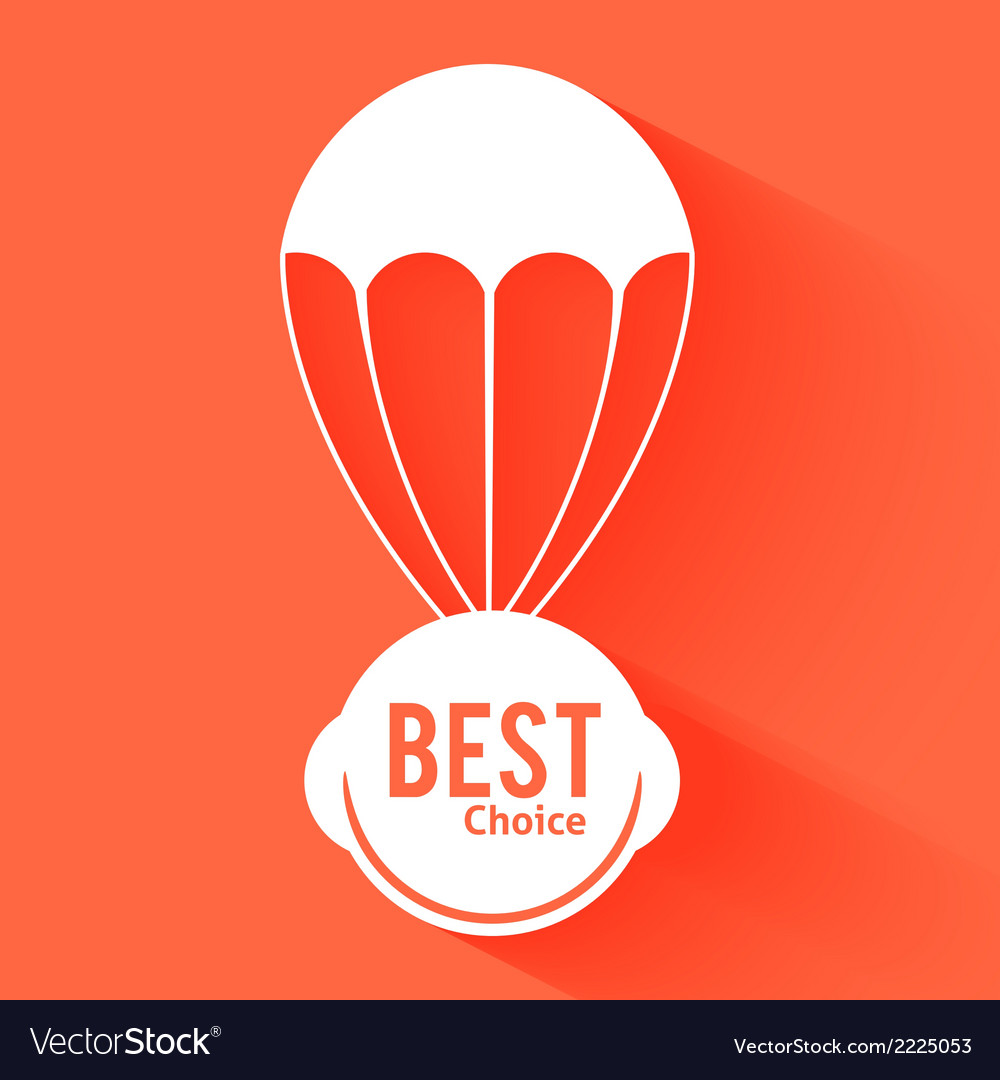 Discount parachute vector | Price: 1 Credit (USD $1)
