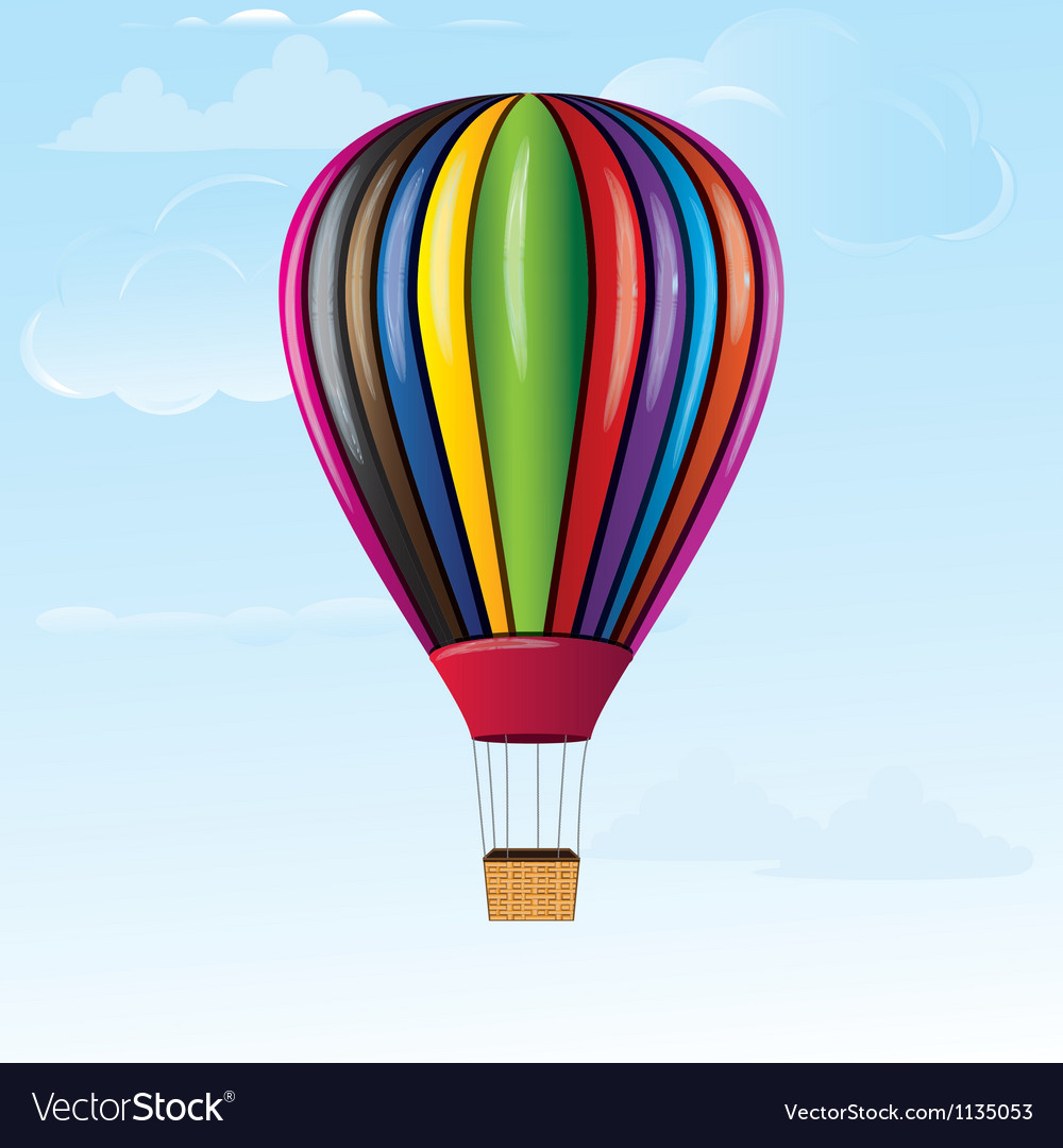 Hotair balloon vector | Price: 1 Credit (USD $1)