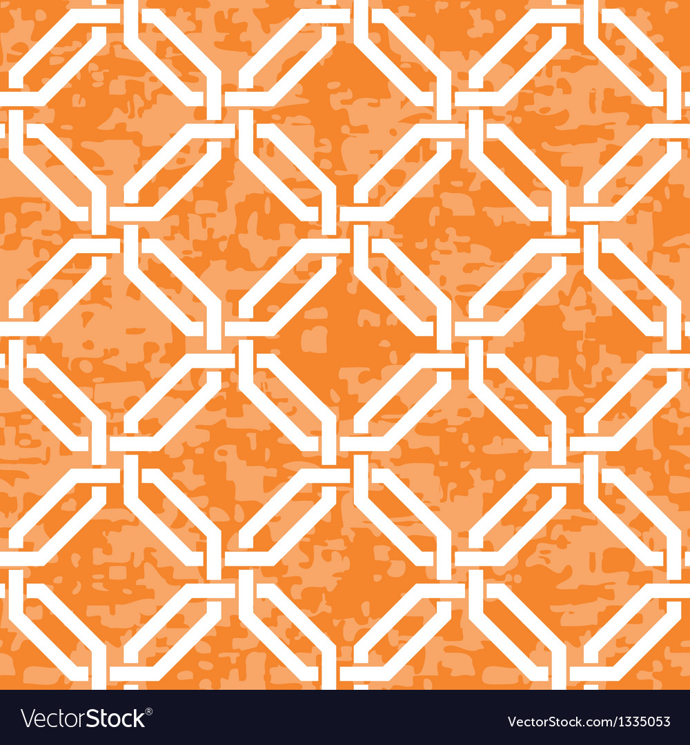 Interlocked octagons pattern vector | Price: 1 Credit (USD $1)