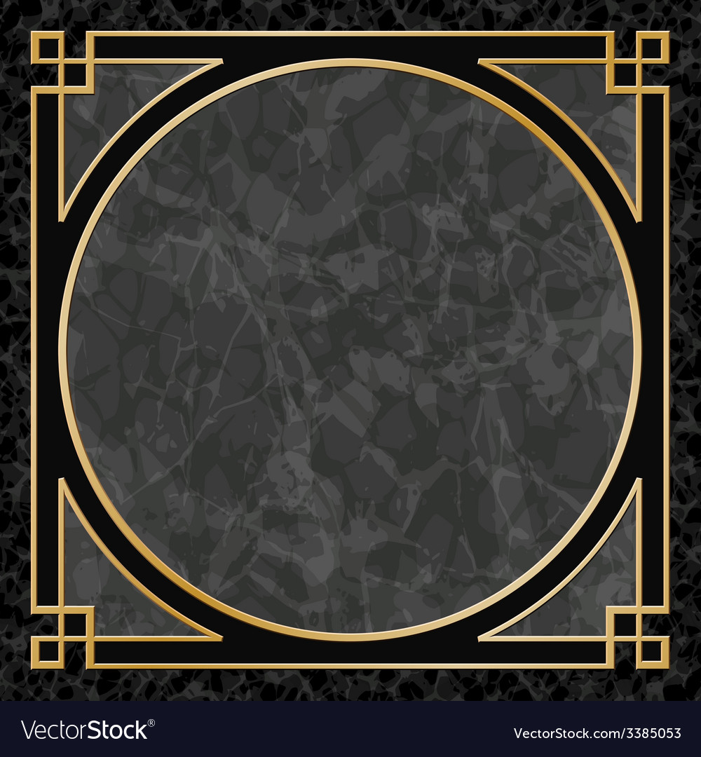 Marble background with frame border vector | Price: 1 Credit (USD $1)