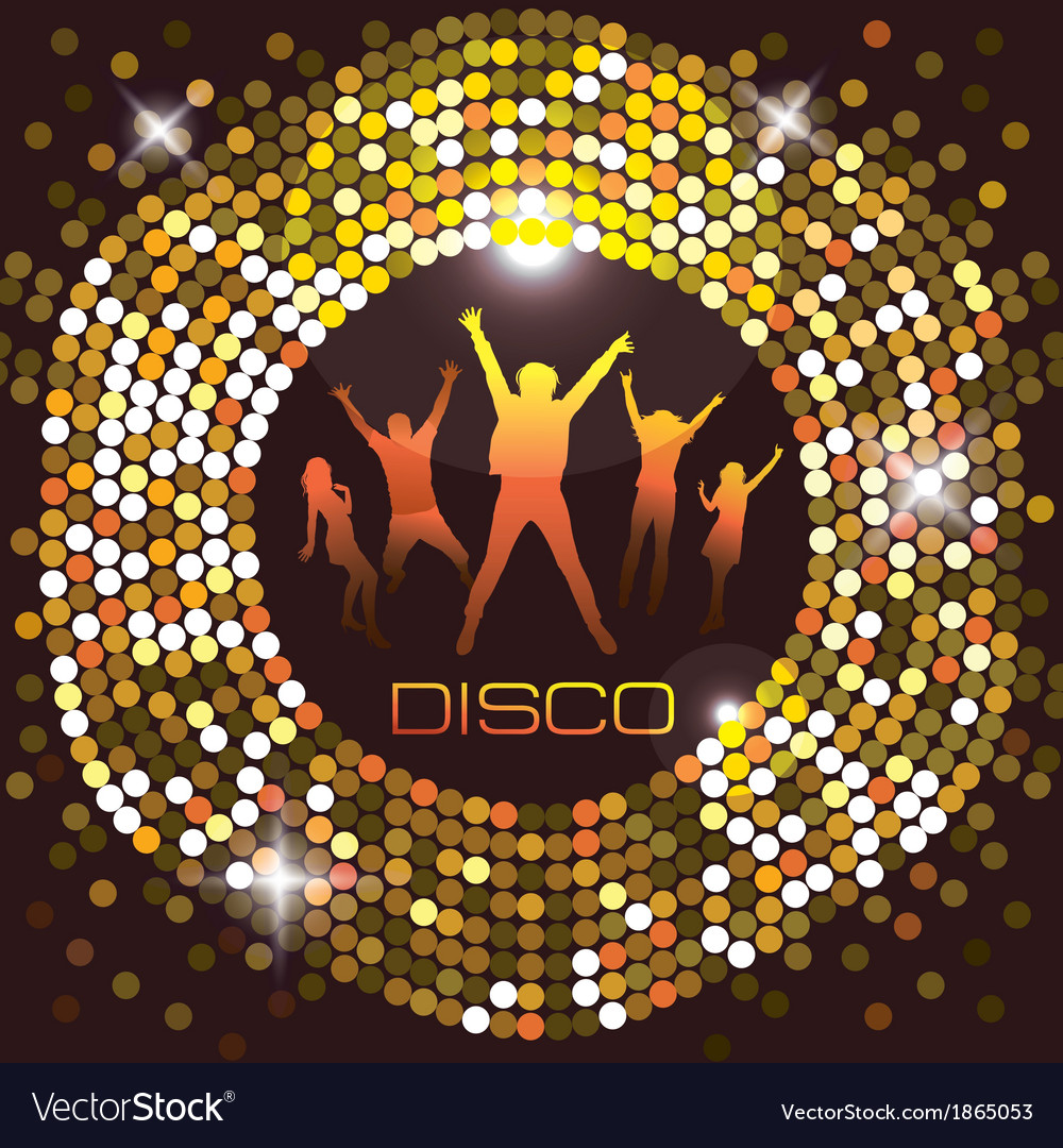 Nightclub city life vector | Price: 1 Credit (USD $1)