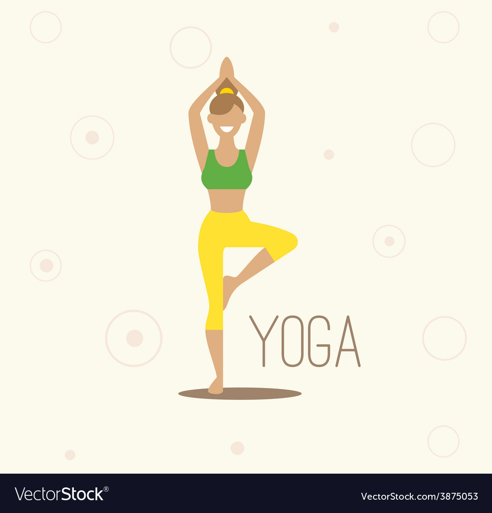 Yoga  surya namaskara yoga vector | Price: 1 Credit (USD $1)