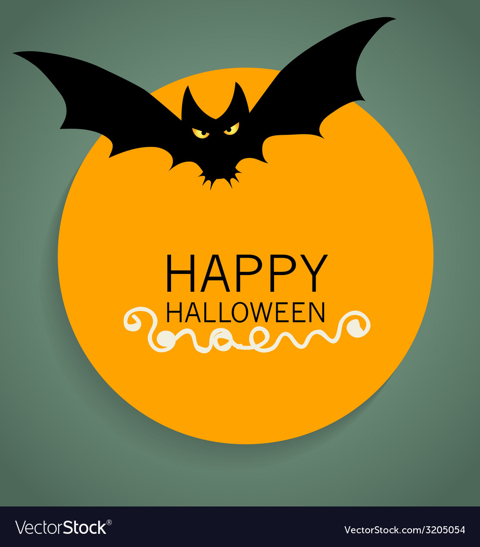 Happy halloween design background vector | Price: 1 Credit (USD $1)