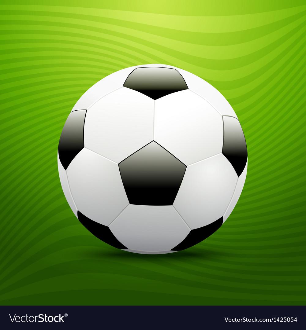 Soccer ball vector | Price: 1 Credit (USD $1)