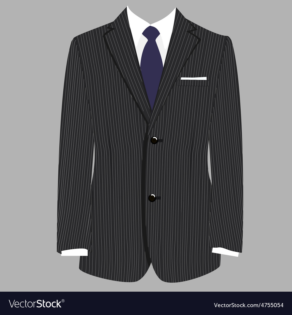 Suit vector | Price: 1 Credit (USD $1)