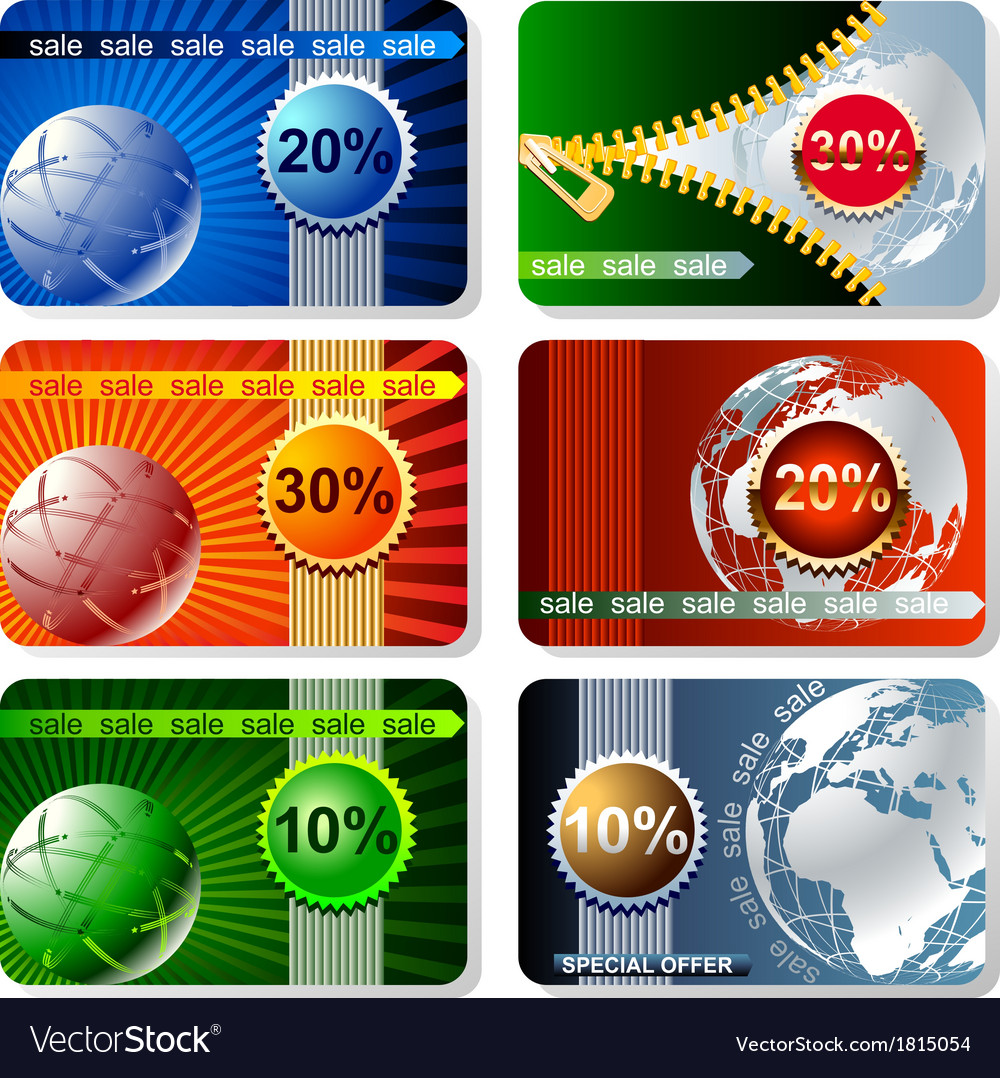 Web banners set vector | Price: 1 Credit (USD $1)