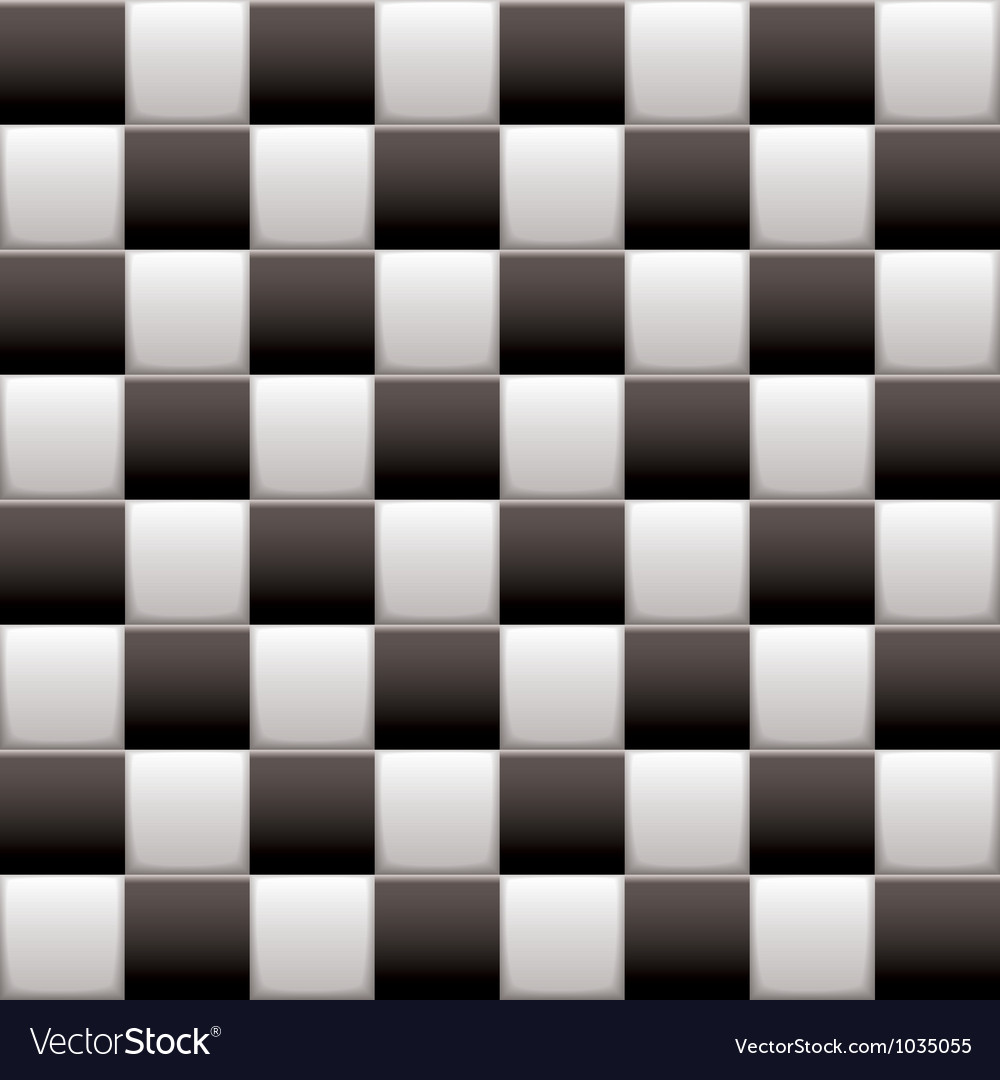 Checkered black n white vector | Price: 1 Credit (USD $1)