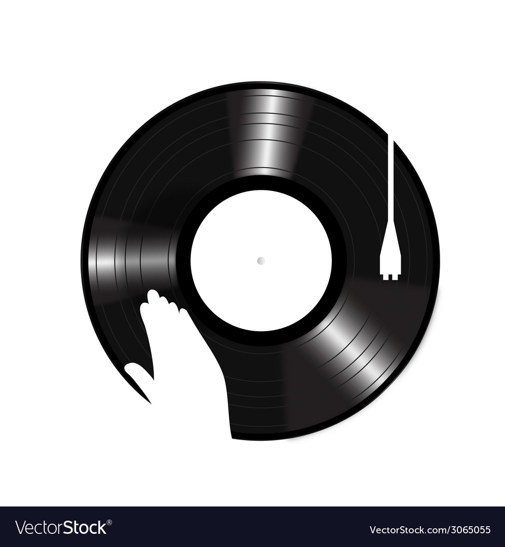 Turntable icon vector | Price: 1 Credit (USD $1)