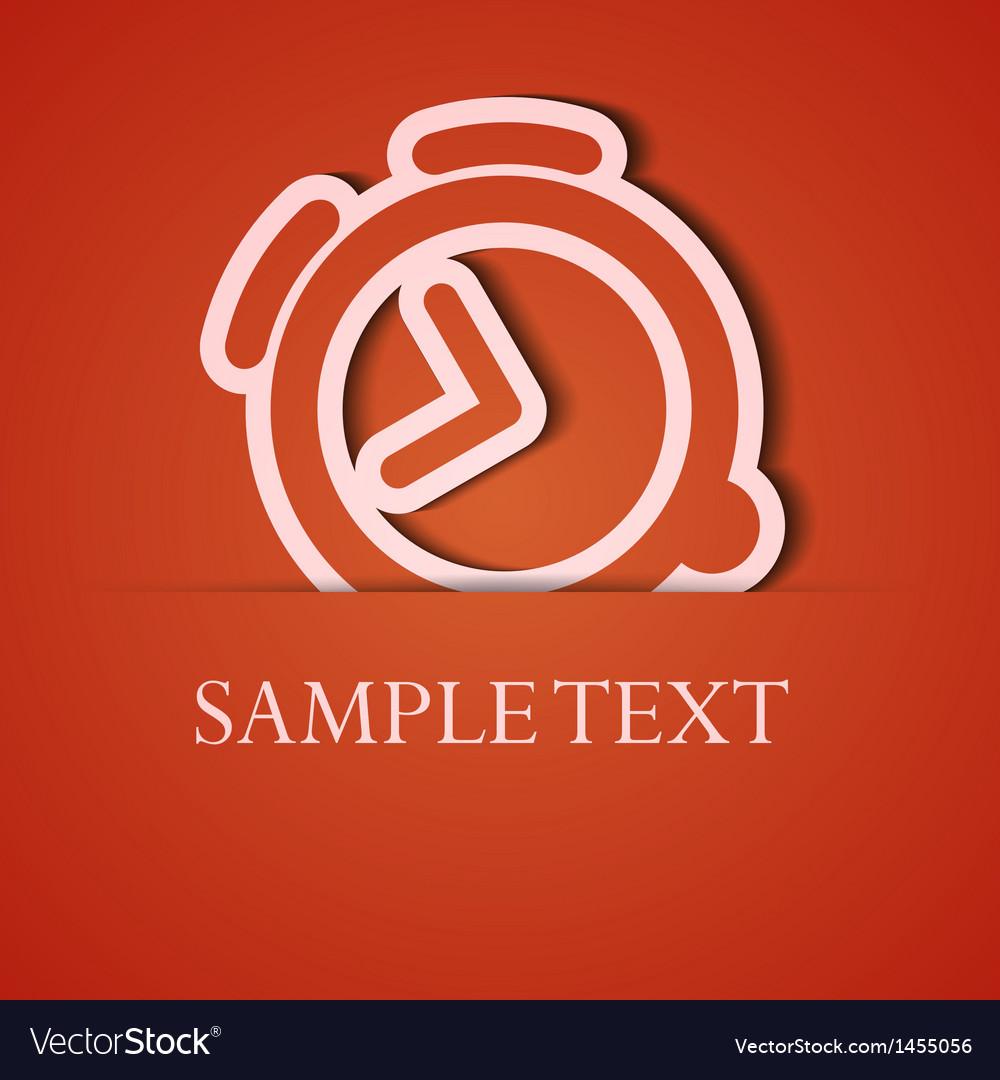 Background orange icon applique eps10 vector   Price: 1 Credit (USD $1)