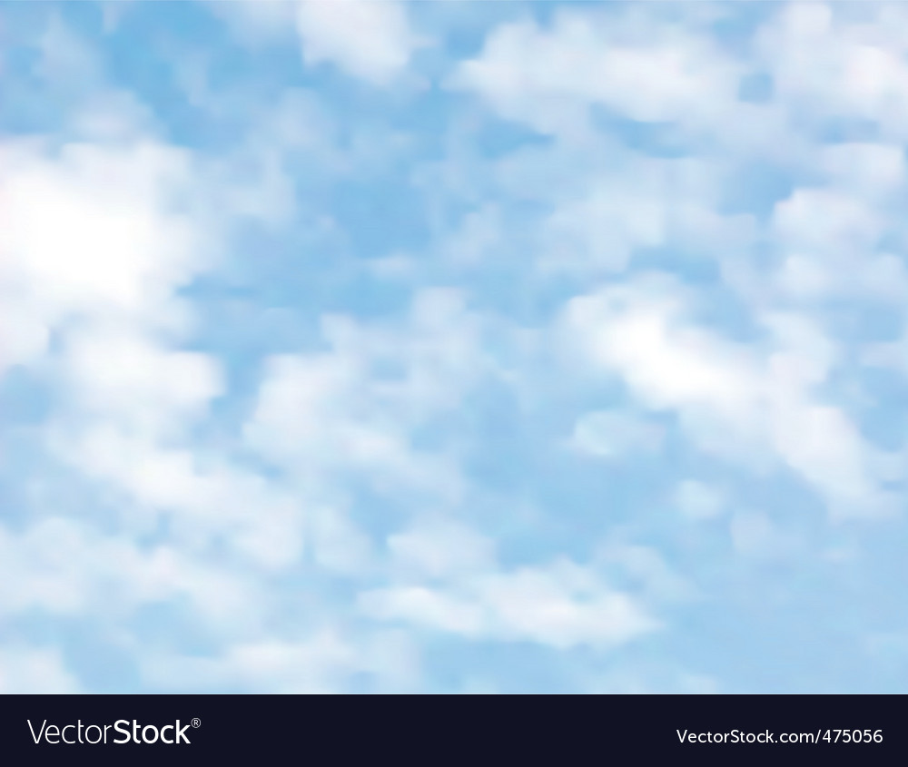 Light clouds vector | Price: 1 Credit (USD $1)