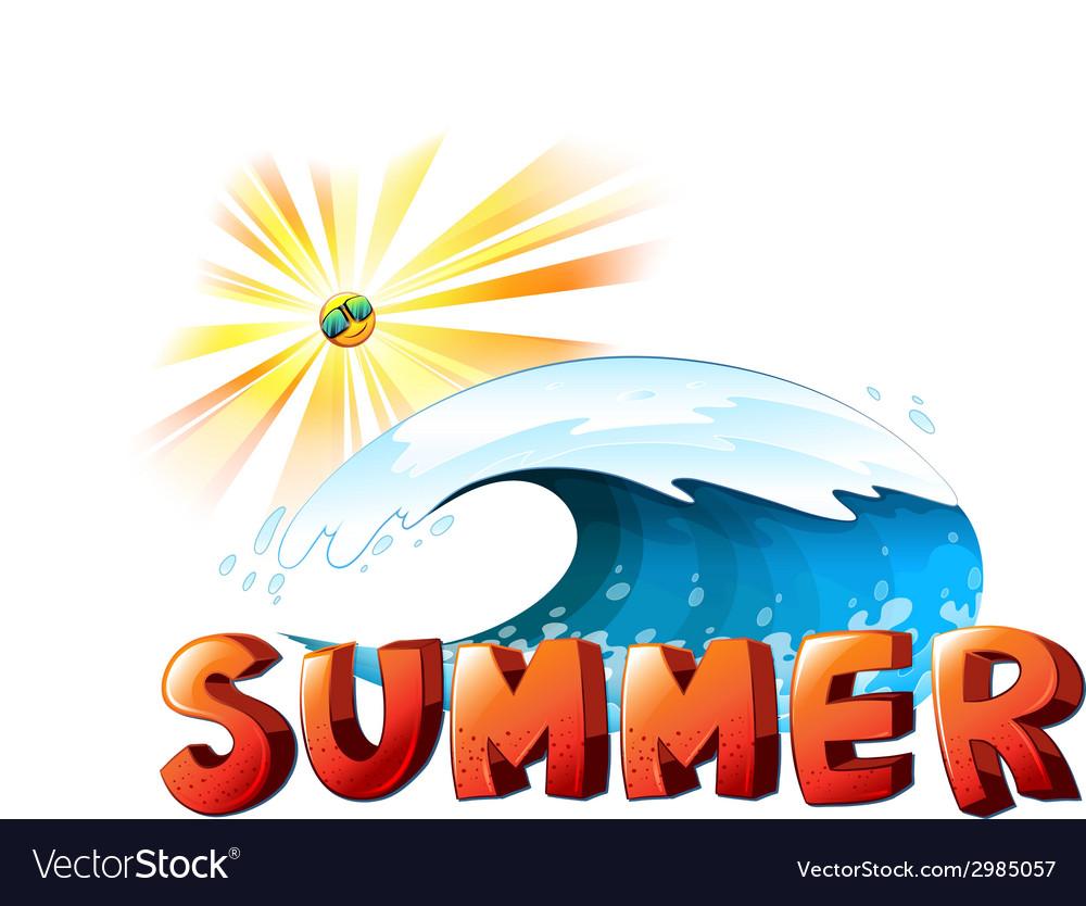 A summer artwork vector   Price: 1 Credit (USD $1)
