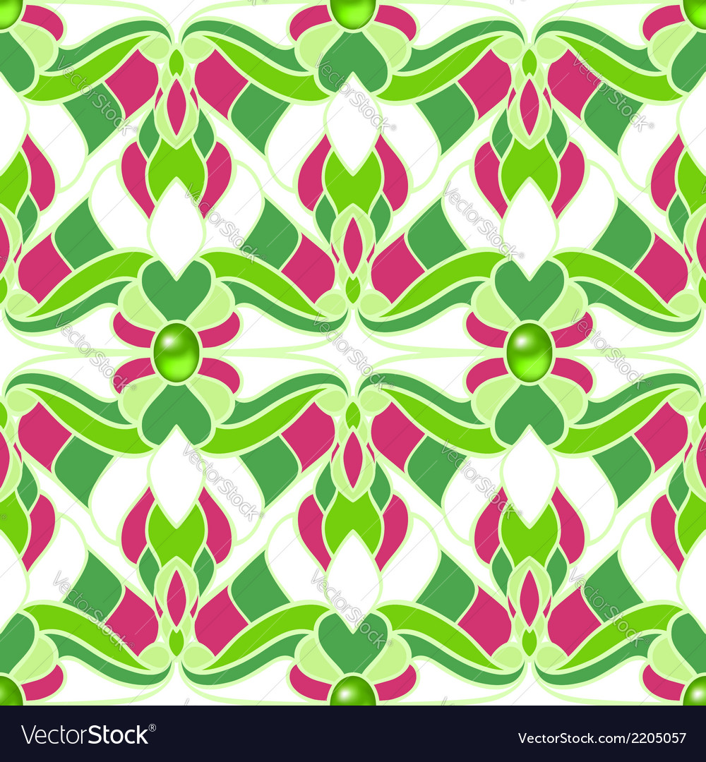 Abstract multicolored seamless pattern vector | Price: 1 Credit (USD $1)