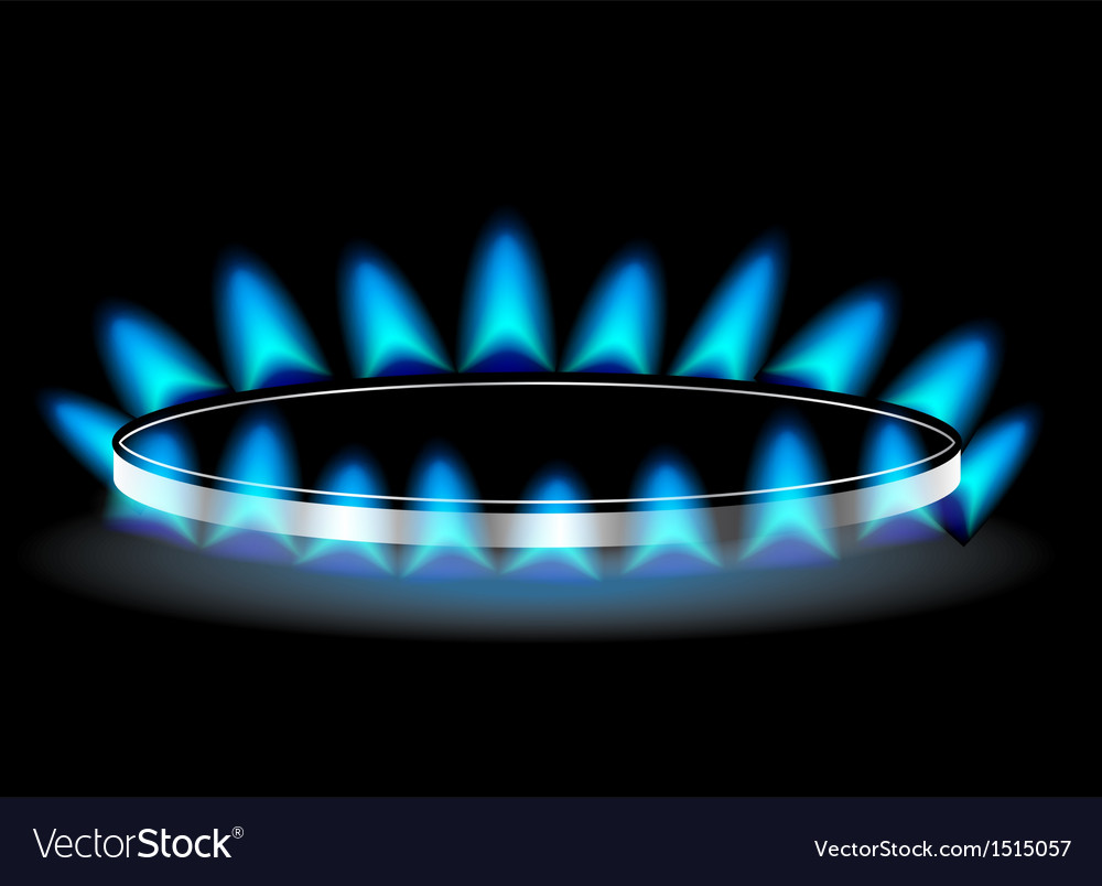 Gas stove burner vector | Price: 1 Credit (USD $1)