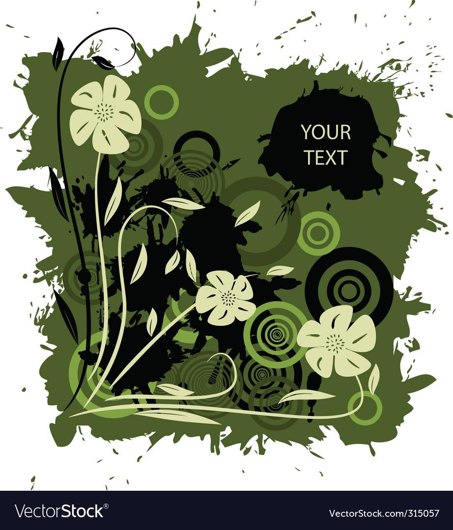 Grunge garden vector | Price: 1 Credit (USD $1)