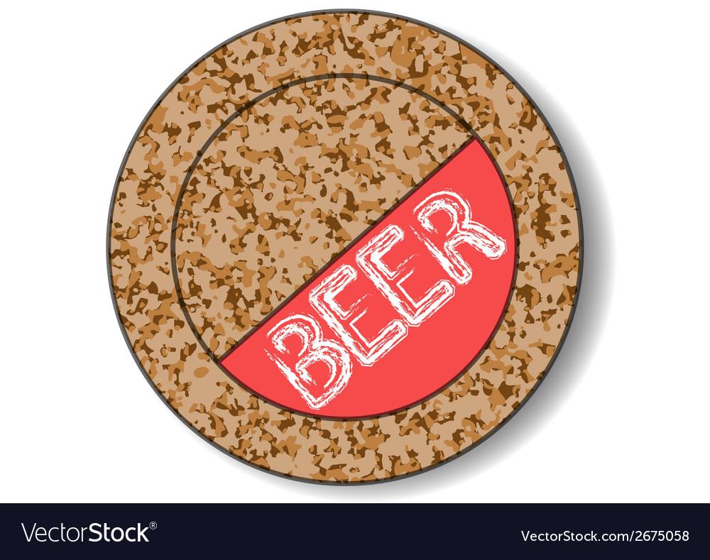 Beer mat vector   Price: 1 Credit (USD $1)