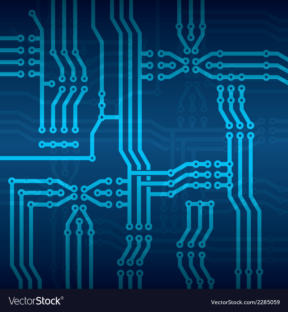 Circuit board vector | Price: 1 Credit (USD $1)