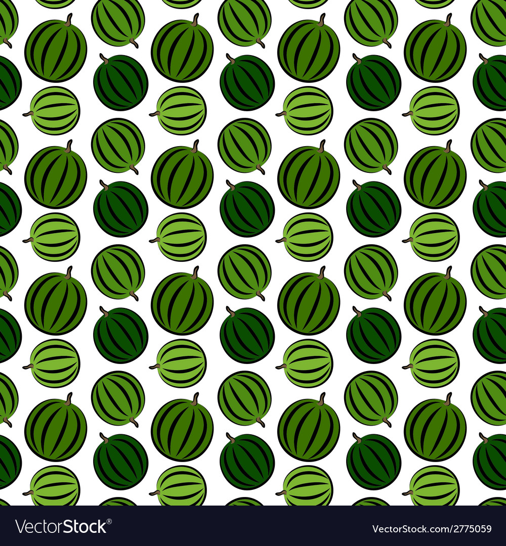 Watermelone pattern vector | Price: 1 Credit (USD $1)