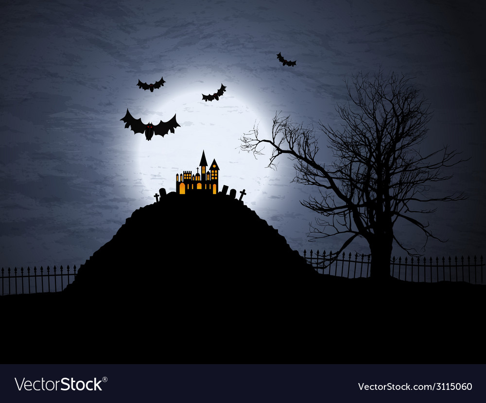 Halloween background 1909 vector | Price: 1 Credit (USD $1)