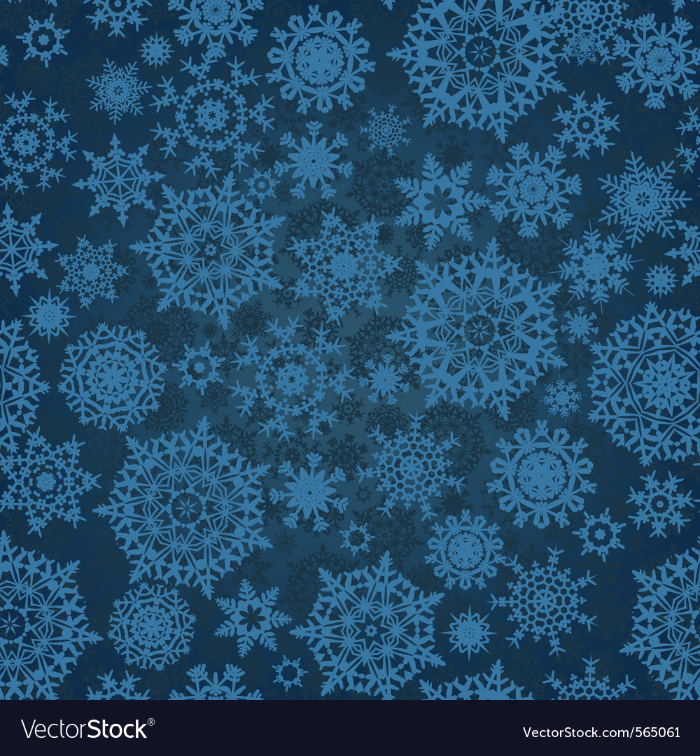 Christmas snowflakes vector | Price: 1 Credit (USD $1)