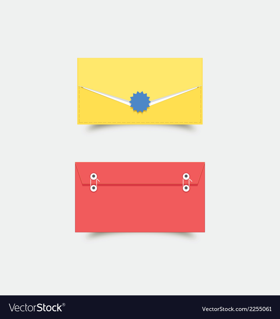 Colorful envelops vector   Price: 1 Credit (USD $1)