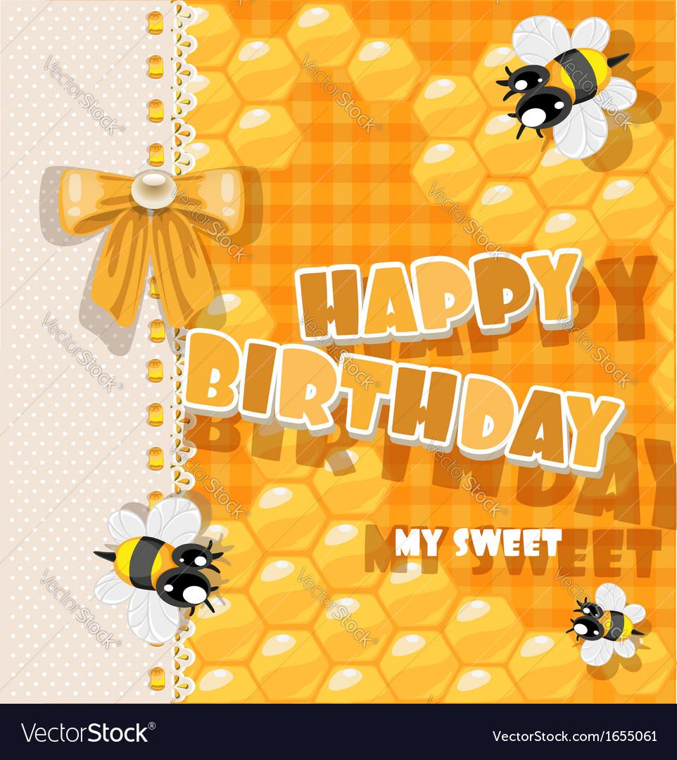 Happy birthday to my sweet vector | Price: 1 Credit (USD $1)