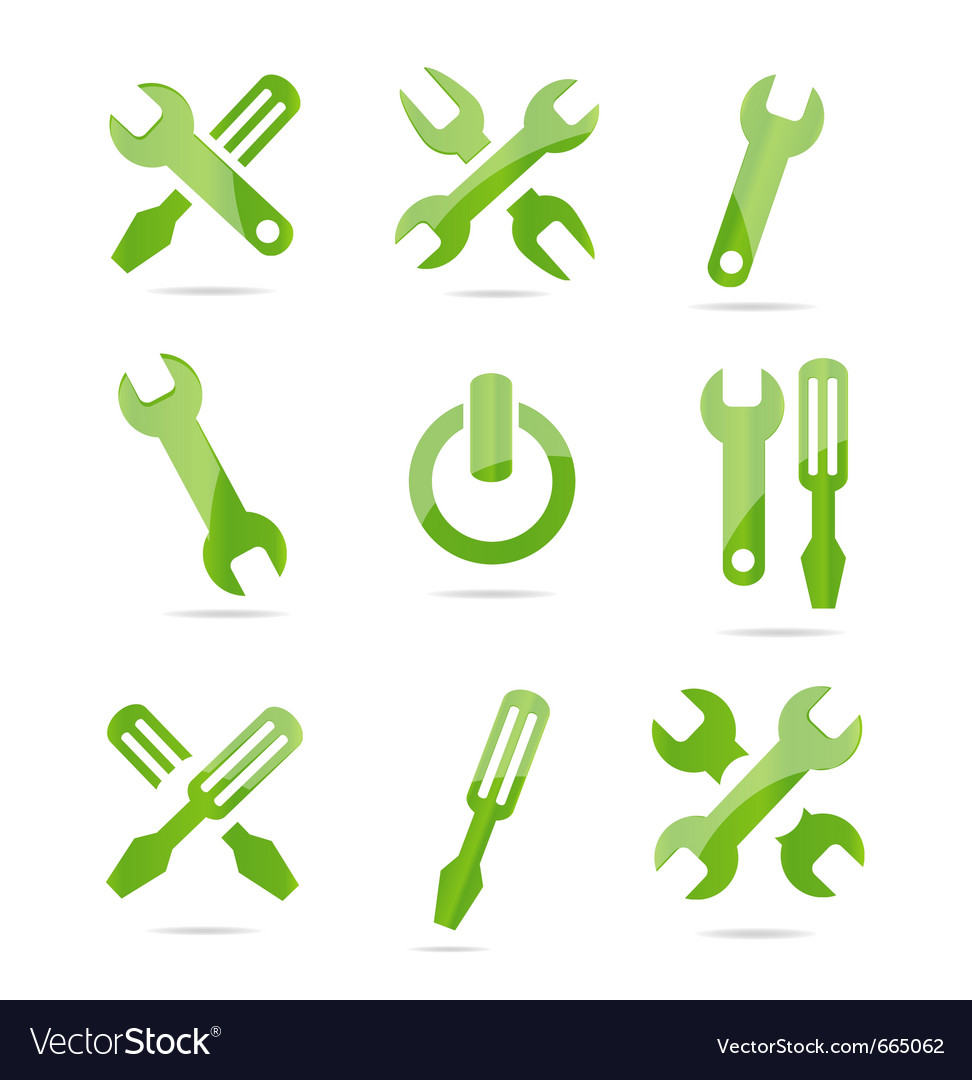 Mechanical tools vector | Price: 1 Credit (USD $1)