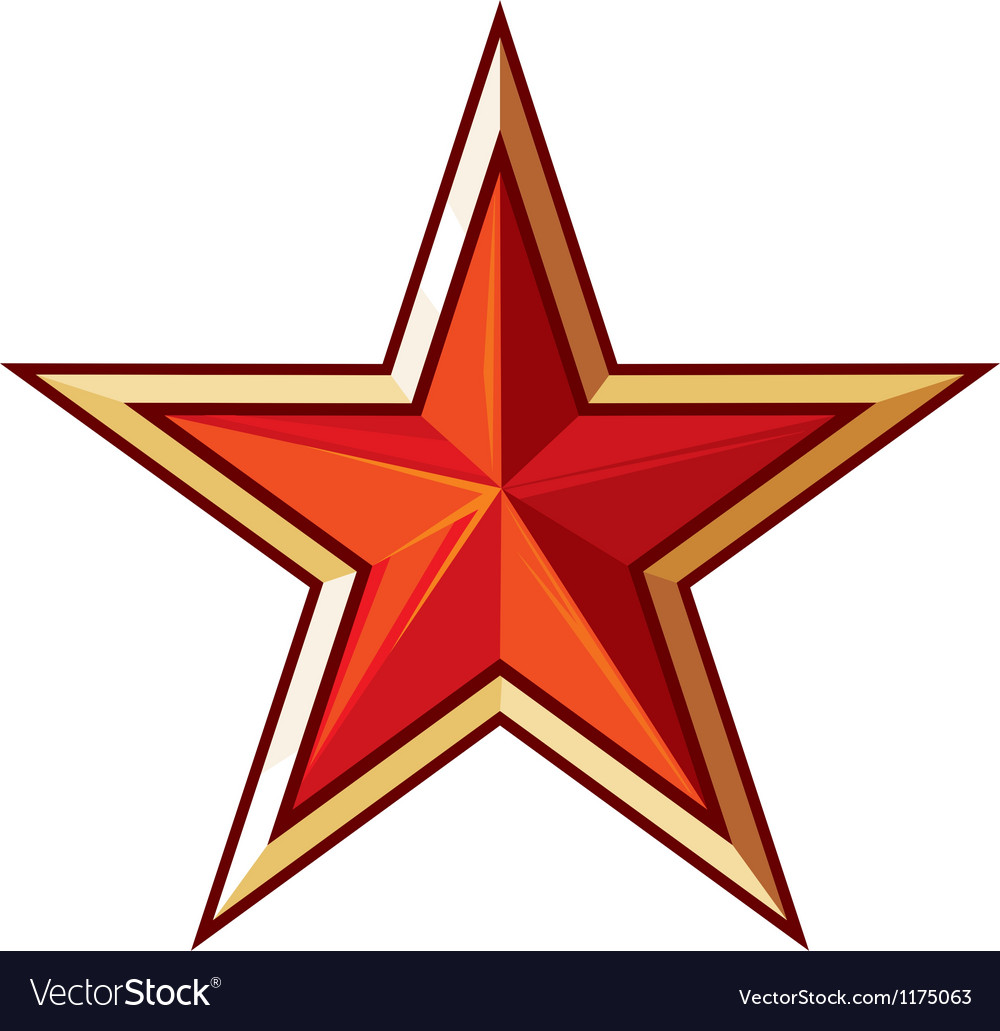 Soviet star vector | Price: 1 Credit (USD $1)