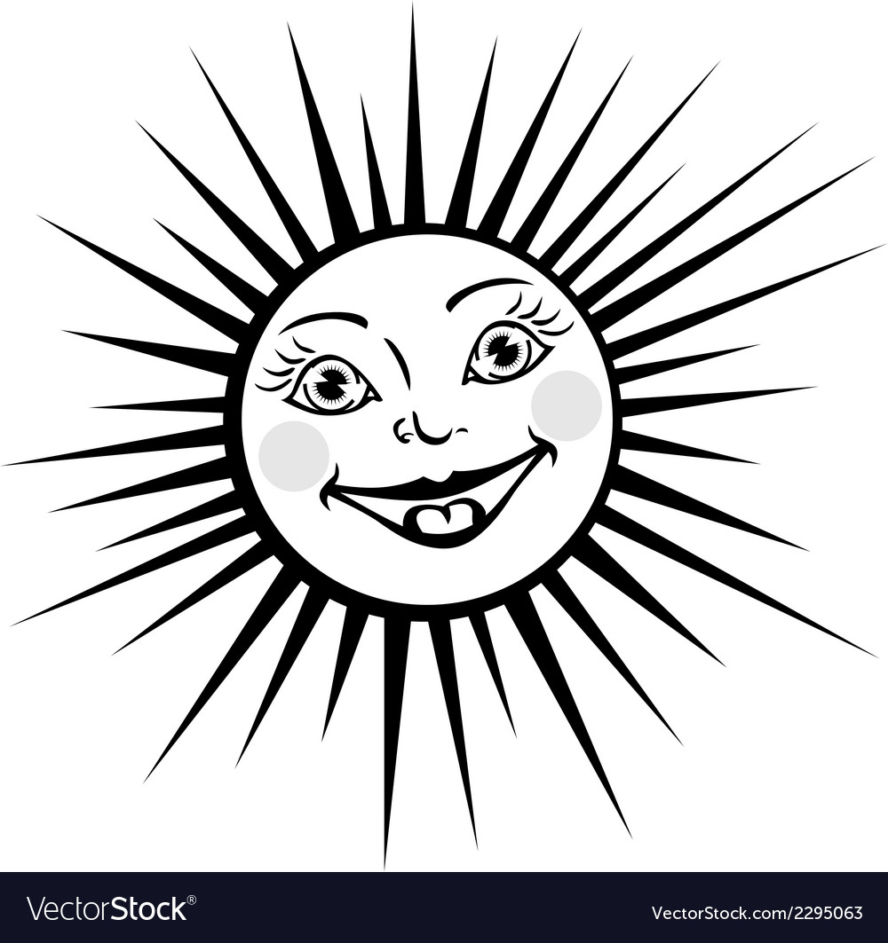 Sunny vector | Price: 1 Credit (USD $1)