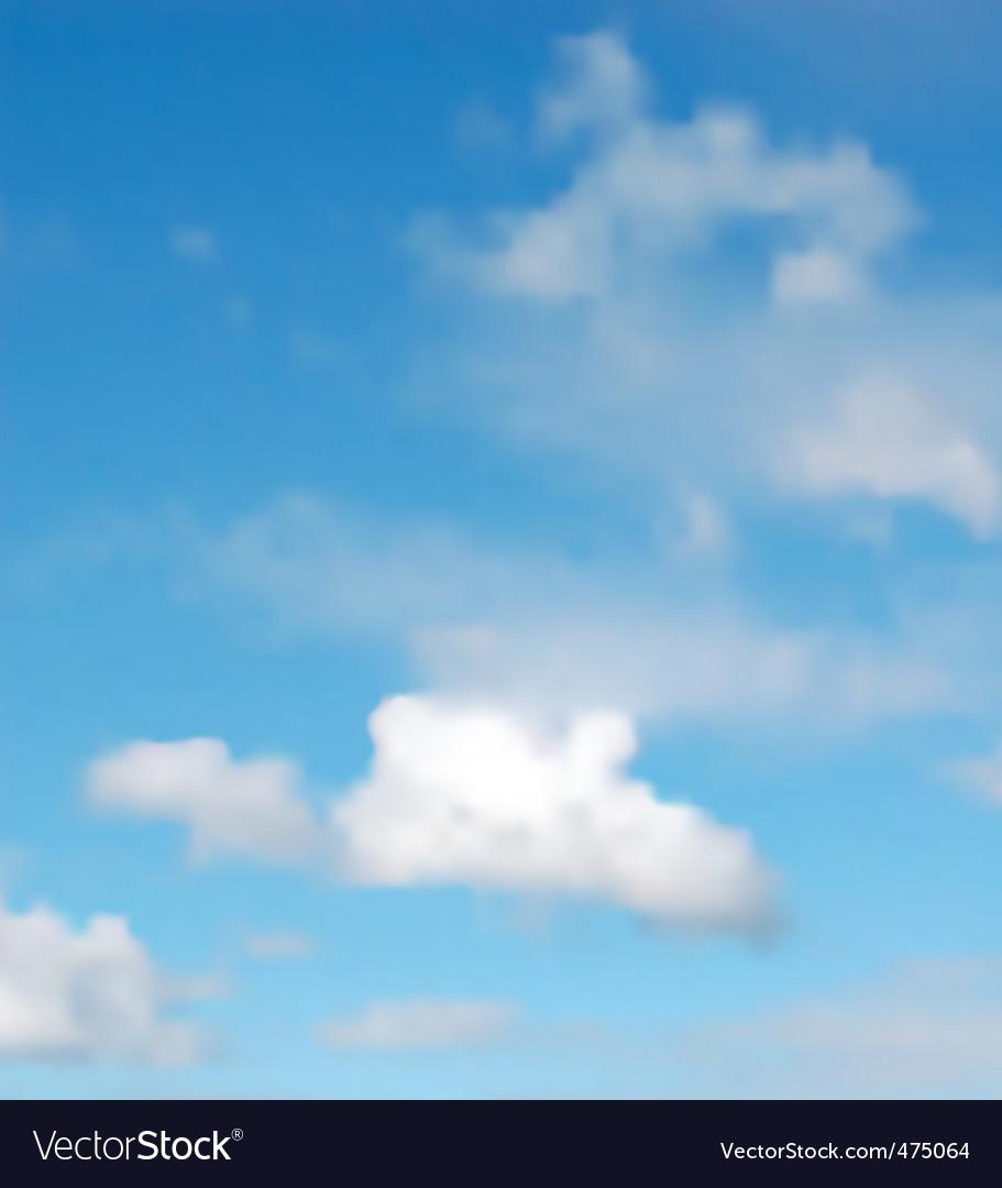 Summer sky vector   Price: 1 Credit (USD $1)