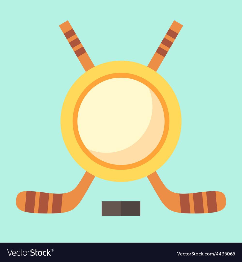 Empty hockey emblem vector   Price: 1 Credit (USD $1)