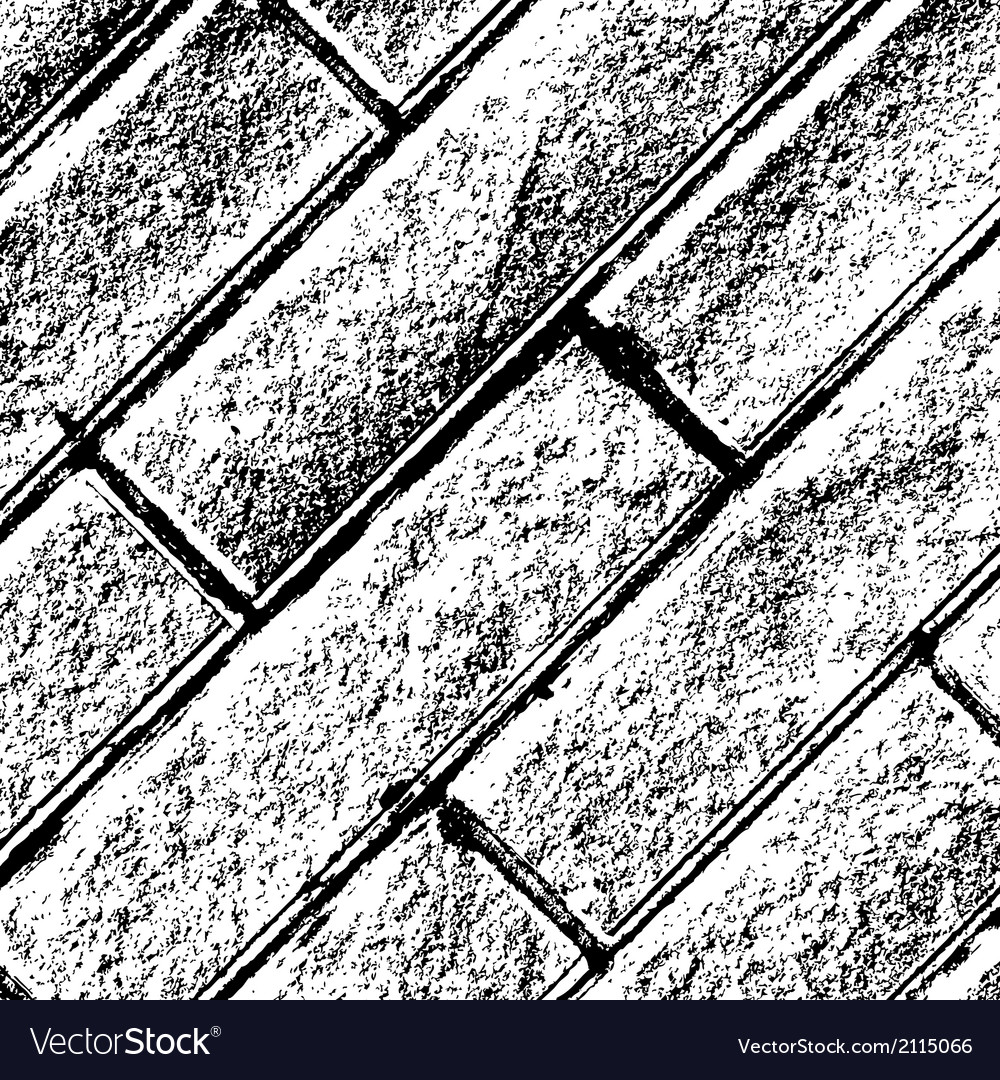 Distressed brick background diagonal vector | Price: 1 Credit (USD $1)