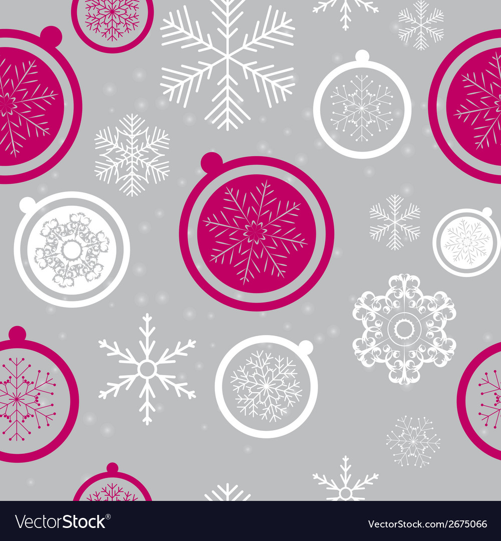 Happy new year and marry christmas seamless vector | Price: 1 Credit (USD $1)