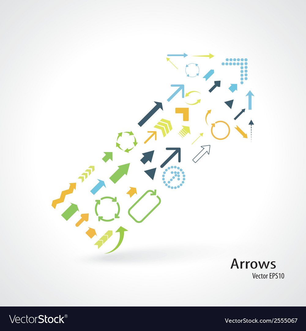 Arrows vector | Price: 1 Credit (USD $1)