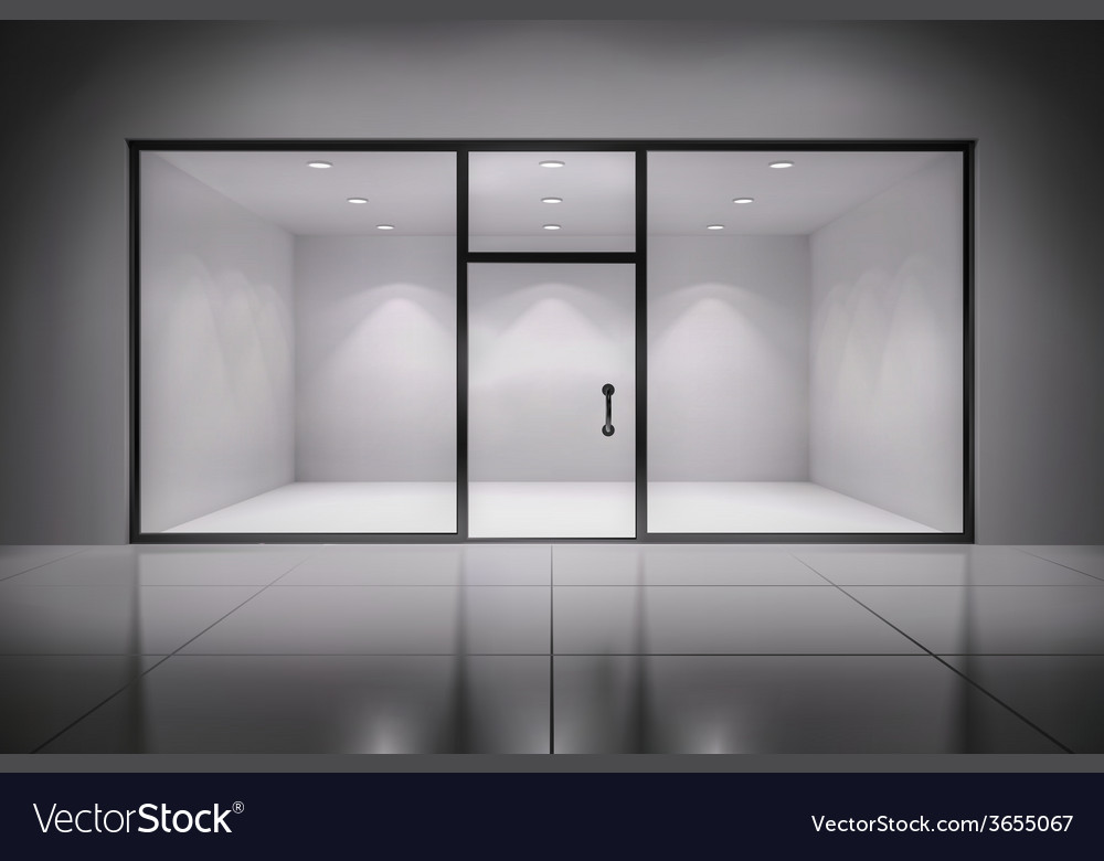 Store interior background vector | Price: 1 Credit (USD $1)