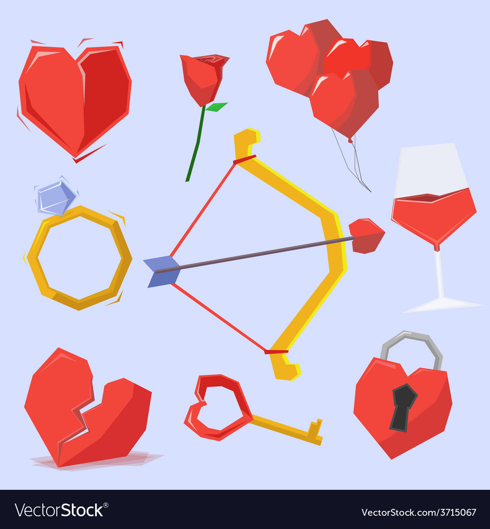 Valentine object vector | Price: 1 Credit (USD $1)